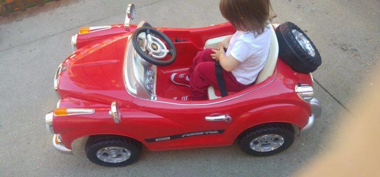 Șoferița noastră prudentă și independentă