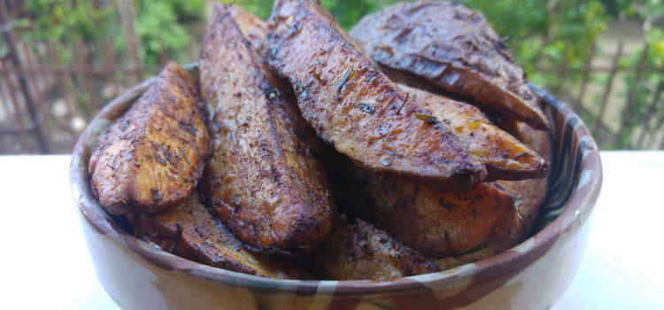 Cartofi copţi în coajă la airfryer