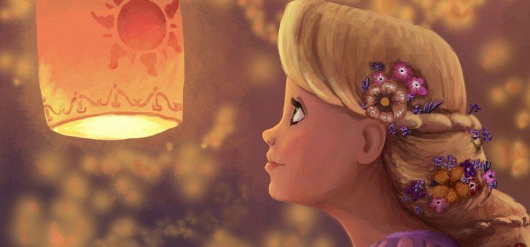 Fetița păpădie și lumina ei magică