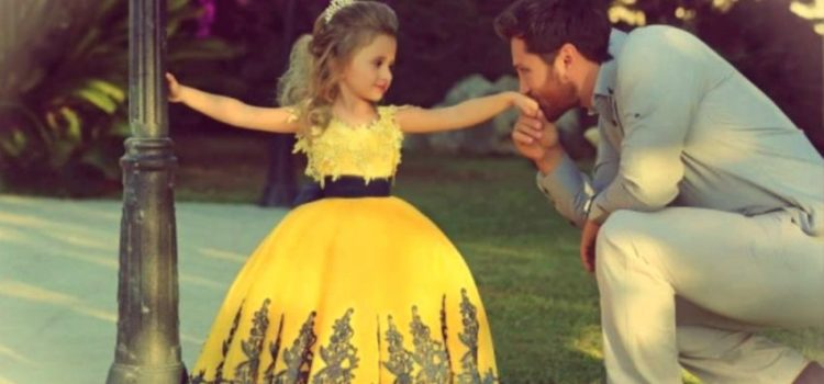 Relația păpădiei fetiț cu tăticul ei