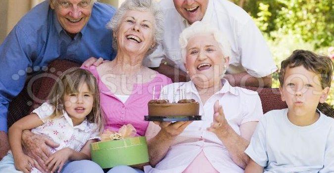 Bunicii de păpădie, nepoțică de iubire