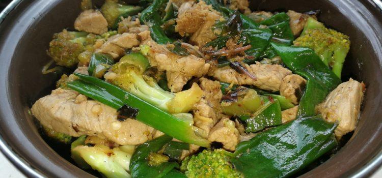 Thai stir fry de viţel cu broccoli