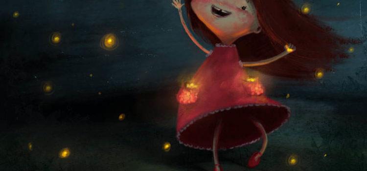 Poveste cu fetița care îmblânzea licurici
