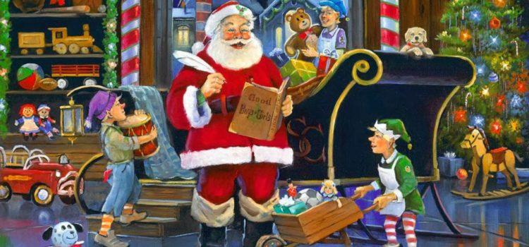 Nu-i uşor deloc să fii Moş Crăciun