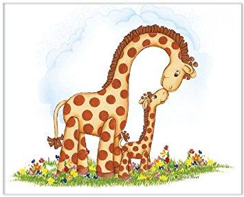 Girafa care a făcut schimb de roluri