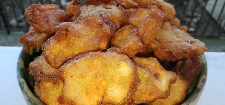 Legumele tempura și invitația la restaurant