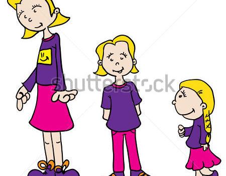 Copii mari versus copii mici