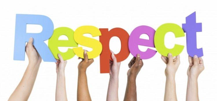 Cum înveți de mic să acorzi respect