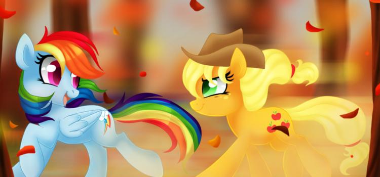 Toamna unui Rainbow Dash preocupat de mere