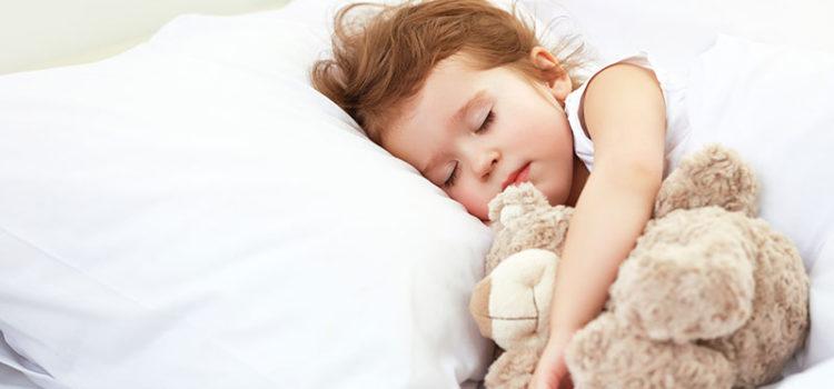 Somnul de prânz de la patru ani